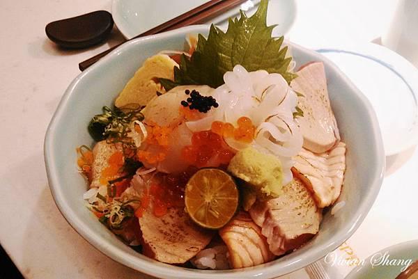 炙燒海鮮丼 $250