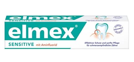 elmex Sensitive Zahnpasta 抗敏牙膏