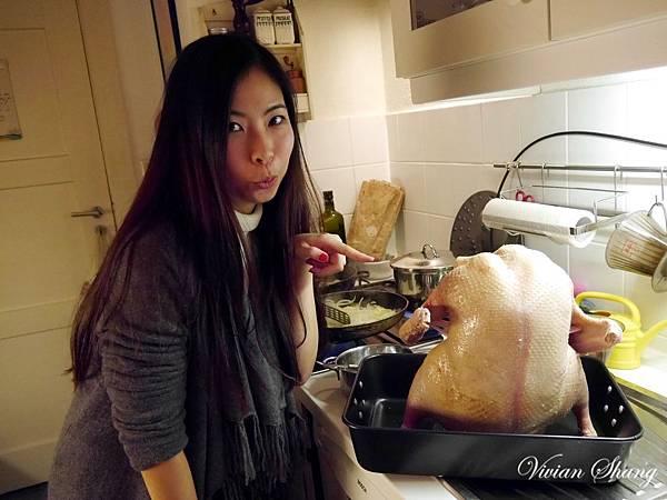 3.9kg鴨子,充氣後喜感滿滿