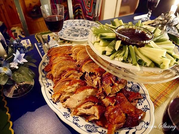 聖誕大餐 - 自製北京烤鴨