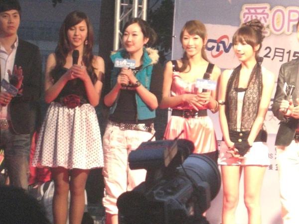 左到右-魏蔓,八鈺,楊晴瑄,林采薇(Yumi)