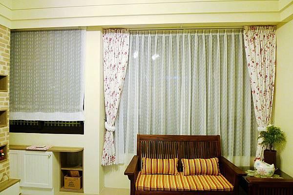 0720-壁紙+窗簾到位