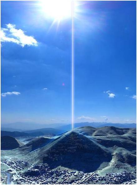 波士尼亞的太陽金字塔出現神秘的能量束!