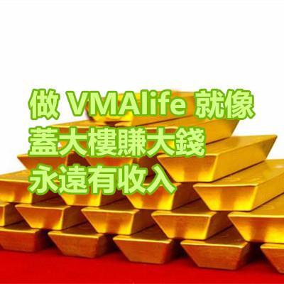 做 VMAlife 就像 蓋大樓賺大錢,永遠有收入