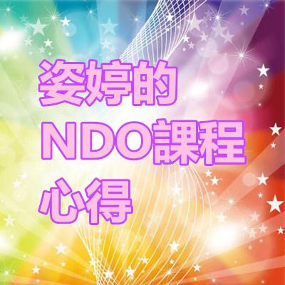 姿婷的NDO課程心得