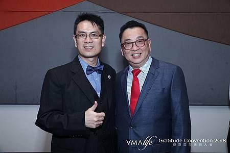 龍哥與VMAlife創辦人暨行政總裁辜總裁合照