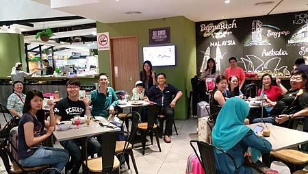 馬來西亞吉隆坡機場晚餐