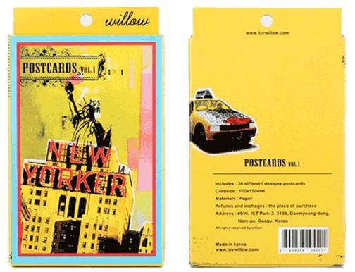 明信片美國夢系列嘻哈風盒裝明信片