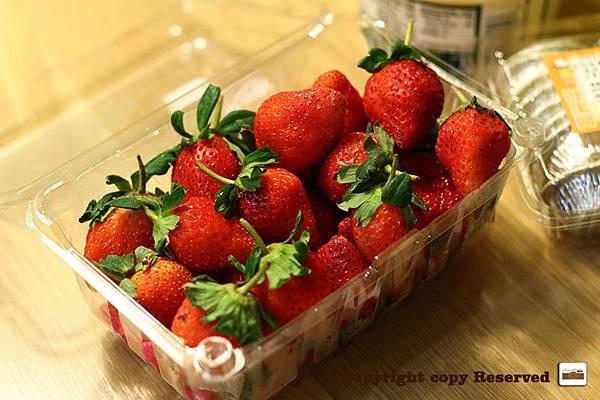 自製草莓塔