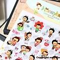 韓國超人氣迷糊娃娃VS韓國SSBA可愛小貓咪日記裝飾貼紙