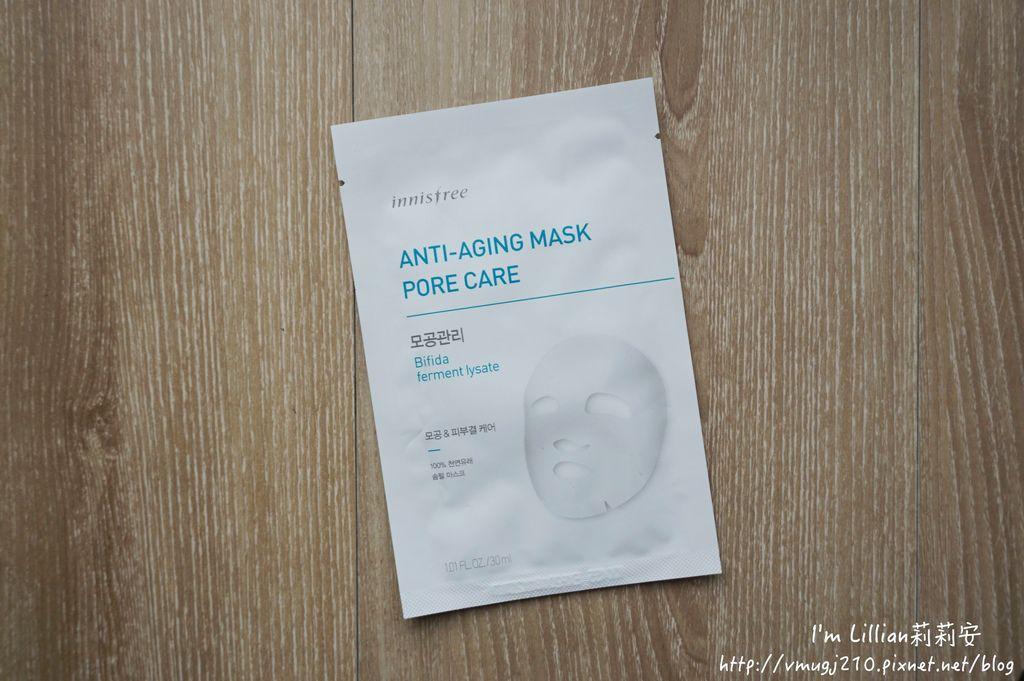韓國美妝保養品推薦innisfree46抗老面膜眼膜頸膜.JPG