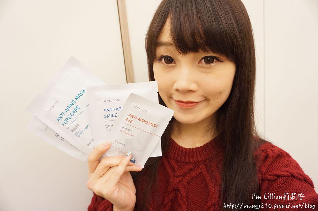 韓國美妝保養品推薦innisfree17抗老面膜眼膜頸膜.JPG