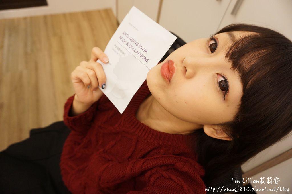 韓國美妝保養品推薦innisfree25抗老面膜眼膜頸膜.JPG