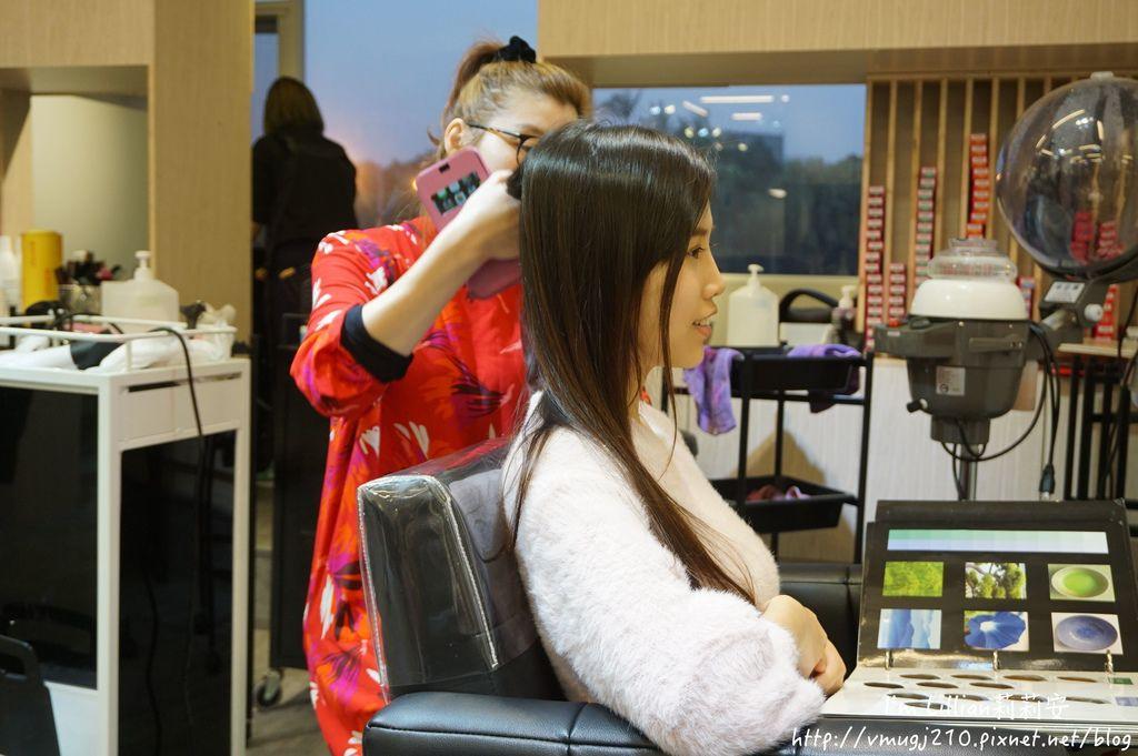 台北公館染髮推薦Hcolor髮廊11挑染剪髮.JPG