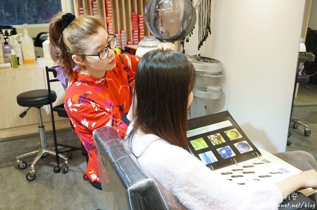 台北公館染髮推薦Hcolor髮廊02挑染剪髮.JPG