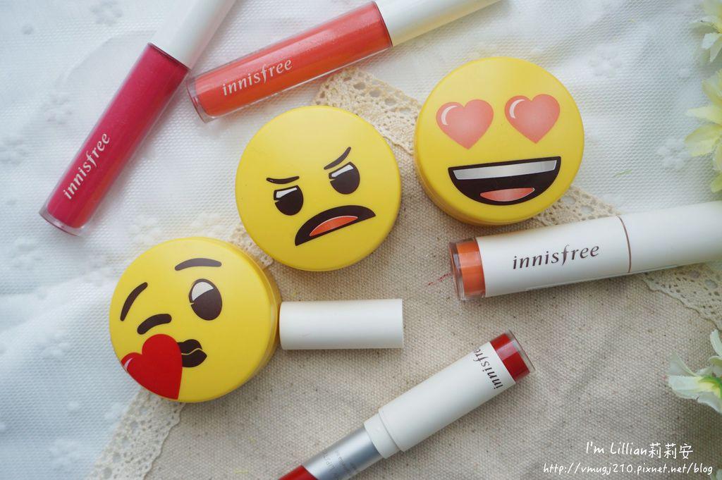 韓國美妝推薦innisfree 無油無慮礦物控油蜜粉Emoji限定版32蜜粉推薦 莉莉安.JPG