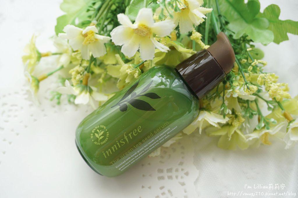 韓國保養必買推薦 innisfree綠茶保濕系列10精華液 洗面乳 乳霜.JPG
