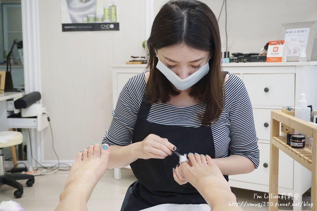 台北東區光療指甲推薦 台北大安美睫14海藍寶石.JPG
