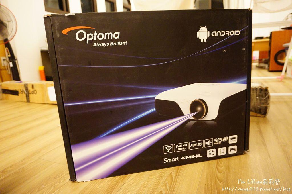 奧圖碼Optoma 投影機推薦 86ZH55開箱文.JPG