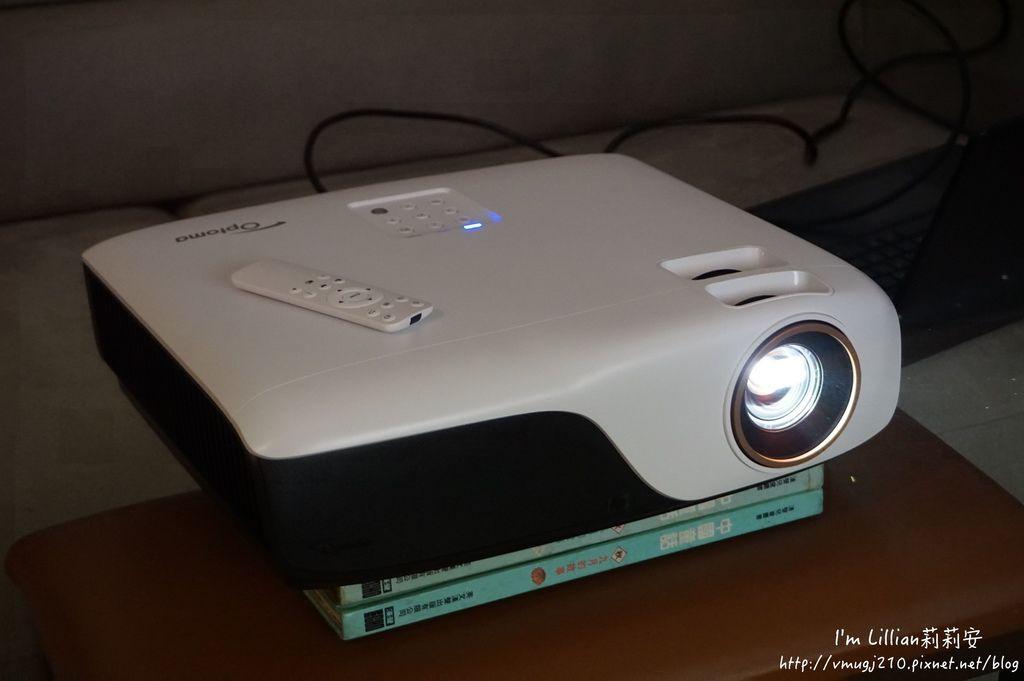 奧圖碼Optoma 投影機推薦 44ZH55開箱文.JPG