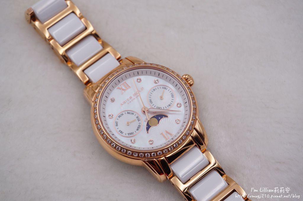石英手錶推薦  施華洛世奇水鑽31Aries Gold LUNA 58010.JPG