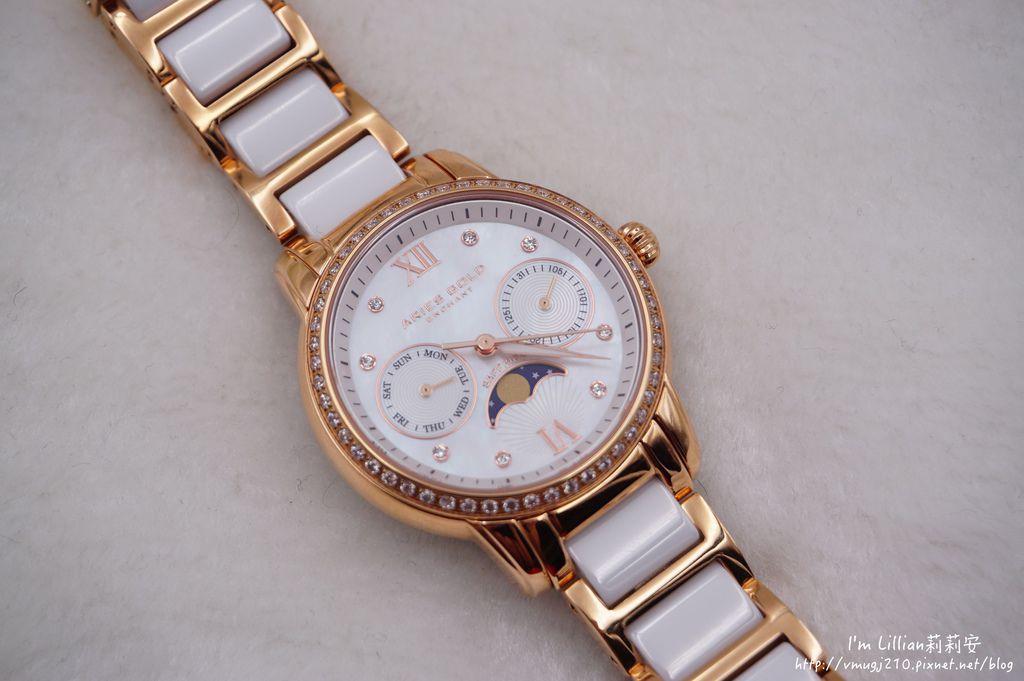 石英手錶推薦  施華洛世奇水鑽32Aries Gold LUNA 58010.JPG