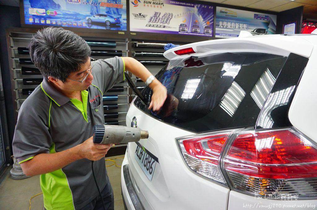 汽車隔熱紙推薦 桑瑪克隔熱紙113SUNMARK 隔熱紙 紫外線.JPG