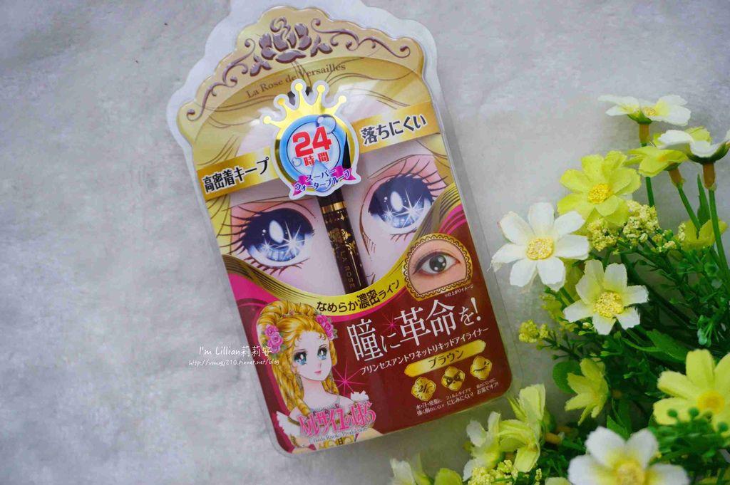 開架眼線液推薦 Creer Beaute 凡爾賽玫瑰017日本防水防油眼線液 .jpg