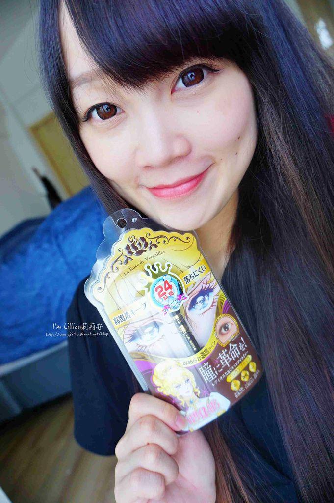 開架眼線液推薦 Creer Beaute 凡爾賽玫瑰110日本防水防油眼線液 .jpg
