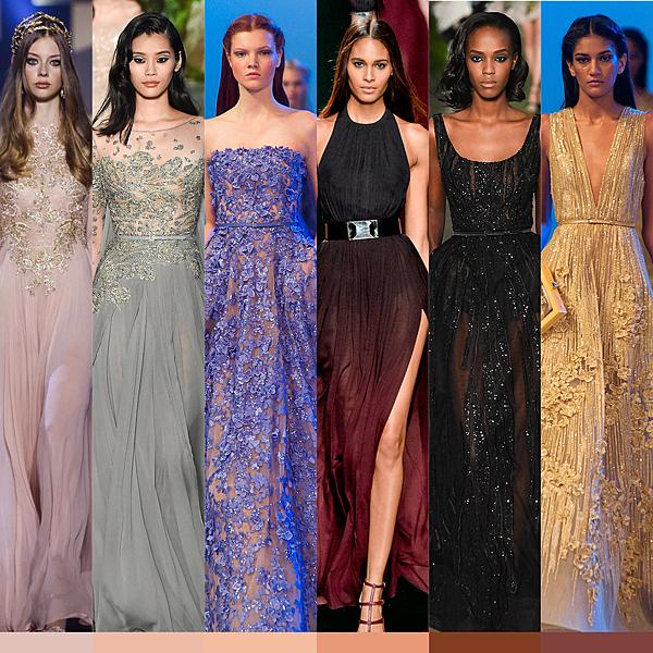 ◆「看膚色」挑選適合的禮服顏色?!