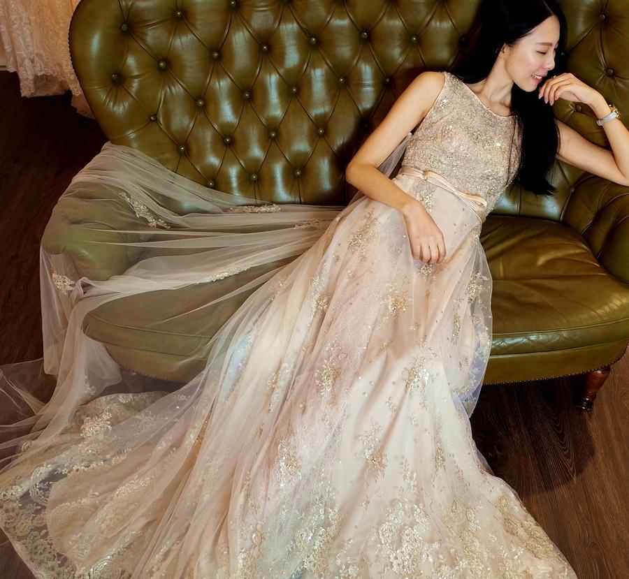 |婚紗試穿|蕾亞法式手工婚紗。新娘必看!亮眼度大躍升法式浪漫感.. 更新4/10