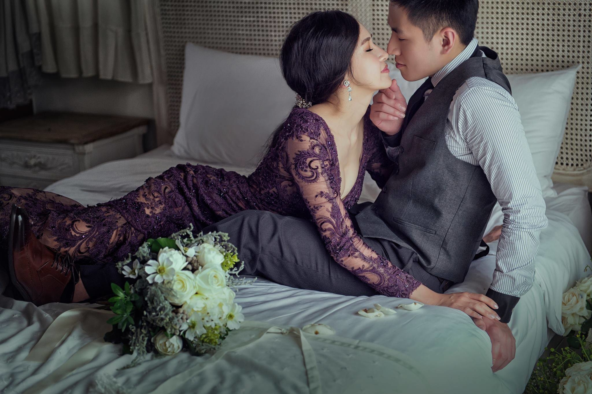 賽西亞手工婚紗:「喜歡設計出怦然心動的婚紗」