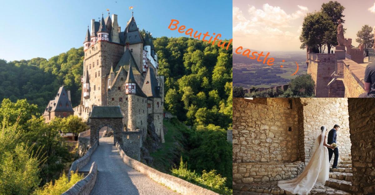 6座「歐洲童話城堡」少女魂爆發~新天鵝堡是窈窕淑女霍亨索倫堡就是戰場英雄...