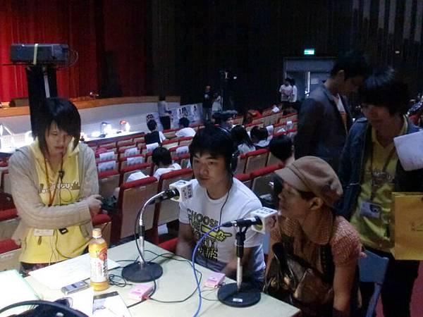 上海的月亮後來榮獲創作組第二名!