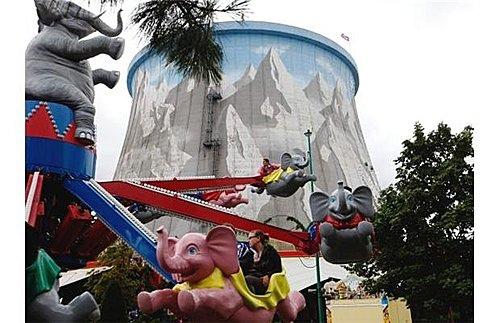 德國核能電廠變身為遊樂場