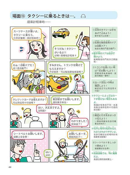 一本漫畫學會旅遊日語會話_p44