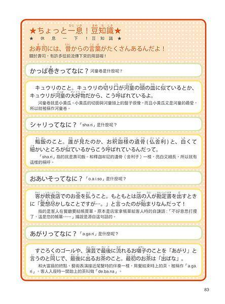 一本漫畫學會旅遊日語會話_p83