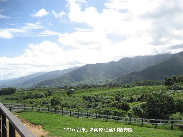 台東 卑南植物園 眺望初鹿.JPG