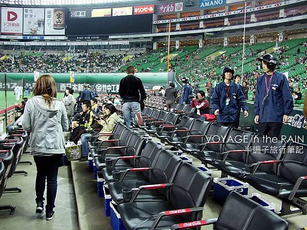 寬敞的座椅間距