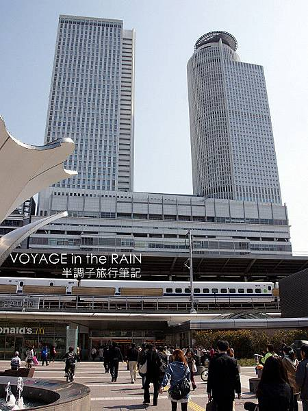 JR名古屋站中央雙塔