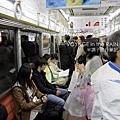 地鐵車廂內