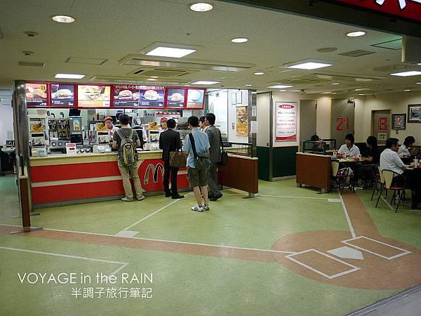 棒球味十足的麥當勞