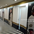 走廊旁的歐力士球員看板