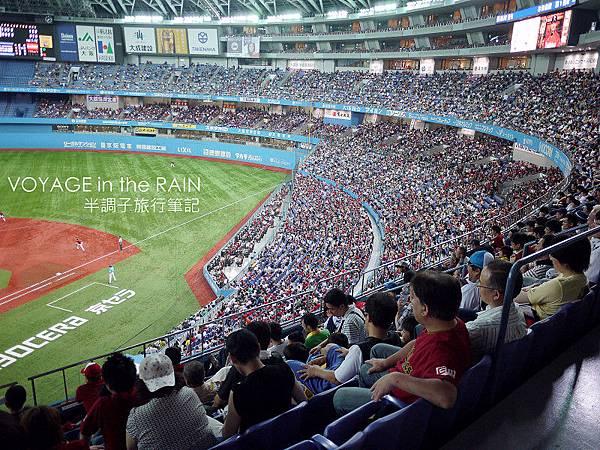 大阪巨蛋難得的盛況