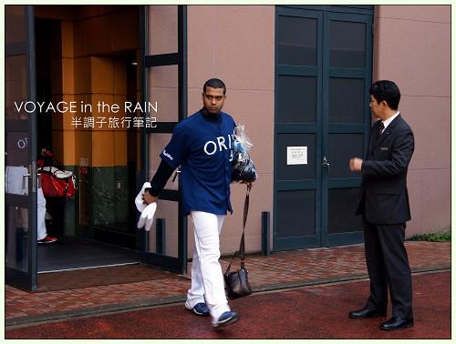 哇靠!我在福岡遇到歐力士球員!