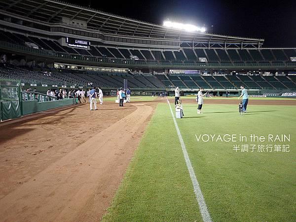 再一次走進棒球場中