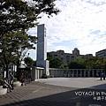 野球塔前廣場