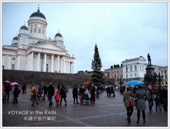 繽紛耶誕,雨中芬蘭