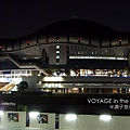 夜晚的大阪巨蛋