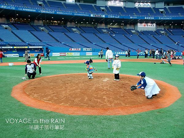 大阪巨蛋的投手丘